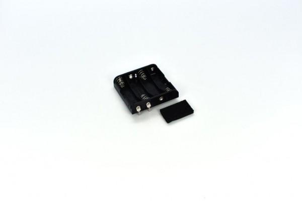 Batteriehalter mit 2 Pins für 4x AA