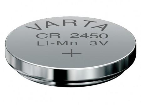 Varta Lithium Knopfzelle CR 2450