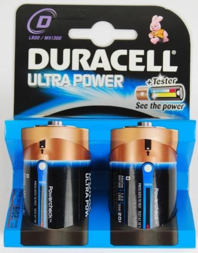 Duracell Ultra Power Alkaline Batterie MX1300