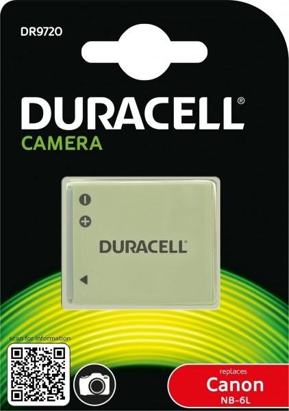 Duracell Digitalkamera und Camcorder Ersatzakku passend für NB-6L