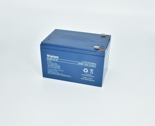 Vision LiFePo4 Batterie LFP1215
