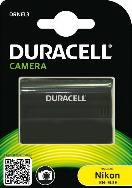 Duracell Digitalkamera und Camcorder Ersatzakku passend für EN-EL3