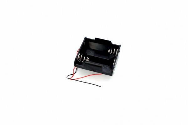 Batteriehalter mit Snap-Terminal für 2x D