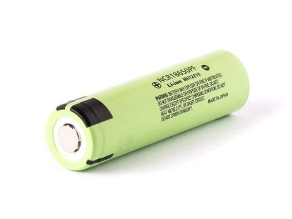Panasonic LI-ION Rundzelle NCR18650PF