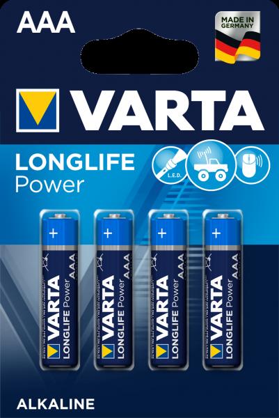 Varta Longlife Power Batterie 4903 / Blister