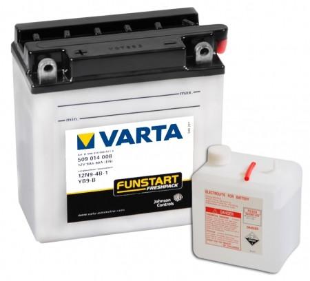 Varta Motorradbatterien Funstart Freshpack 12V VAR509014008