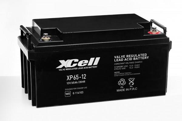 XCELL XP 65-12 Bleiakku