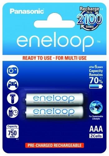 Panasonic eneloop 4MCCE AAA 2er Blister