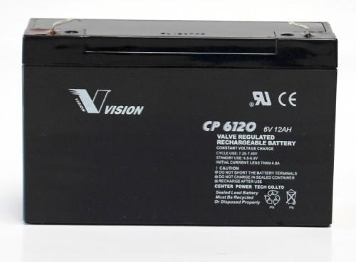 Vision Bleiakku CP6120F2