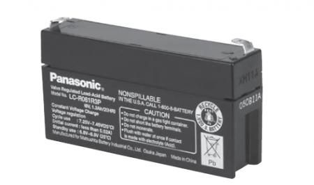 Panasonic Bleiakku LC-R061R3P