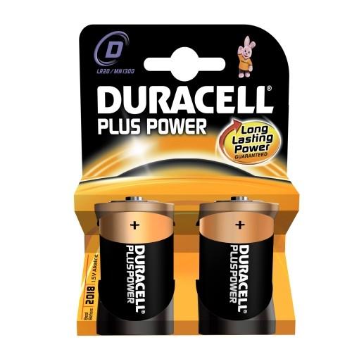 Duracell Plus Power Alkaline Batterie MN1300 Blister