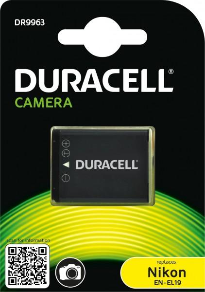 Duracell Digitalkamera und Camcorder Ersatzakku passend für EN-EL19