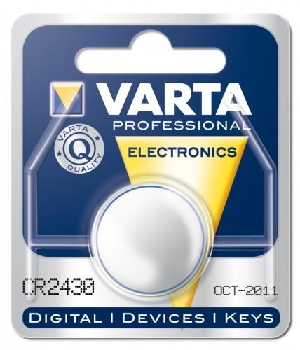 Varta Lithium Knopfzelle CR 2430 B