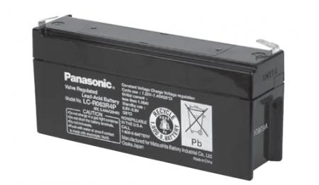 Panasonic Bleiakku LC-R063R4P