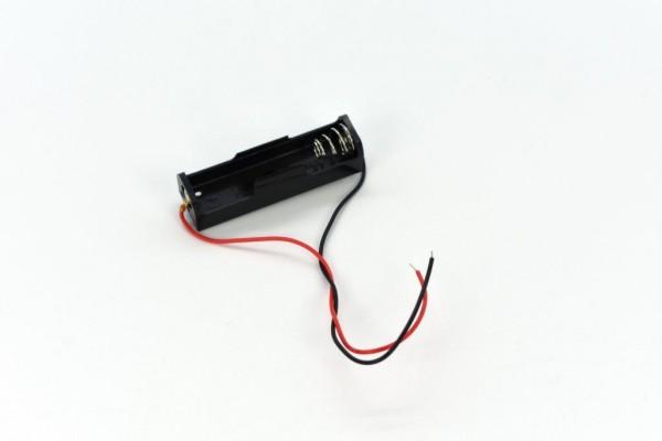 Batteriehalter mit Kabel für 1x AA