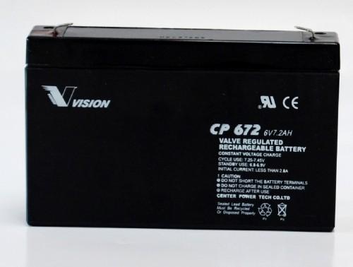 Vision Bleiakku CP672
