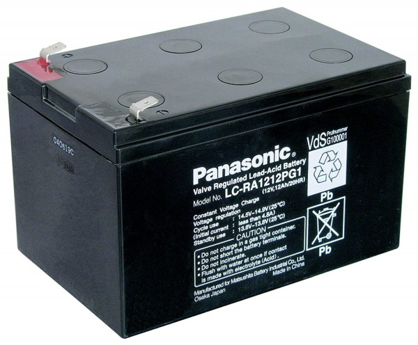 Panasonic Bleiakku LC-RA1212PG1