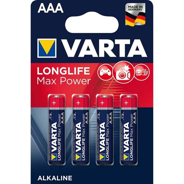 Varta LONGLIFE Max Power AAA 4703
