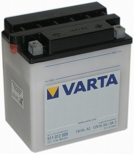 Varta Motorradbatterien Funstart Freshpack 12V VAR532011024