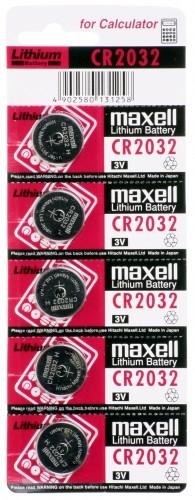 Maxell Lithium Knopfzelle CR 2032 B5