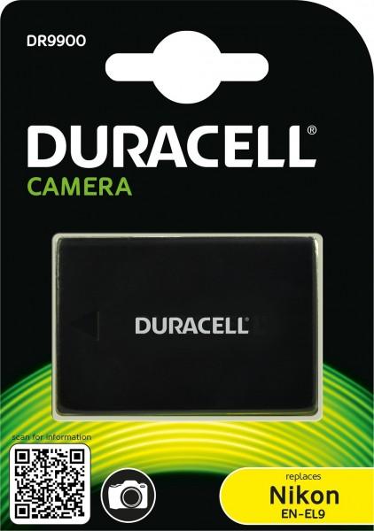 Duracell Digitalkamera und Camcorder Ersatzakku passend für EN-EL9