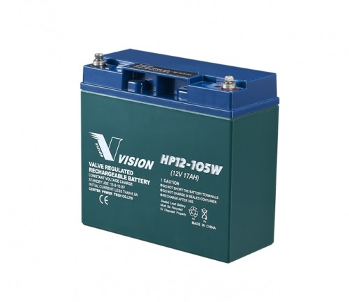 Vision Bleiakku HP12-105WX