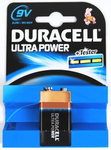 Duracell Ultra Power Alkaline Batterie MX1604